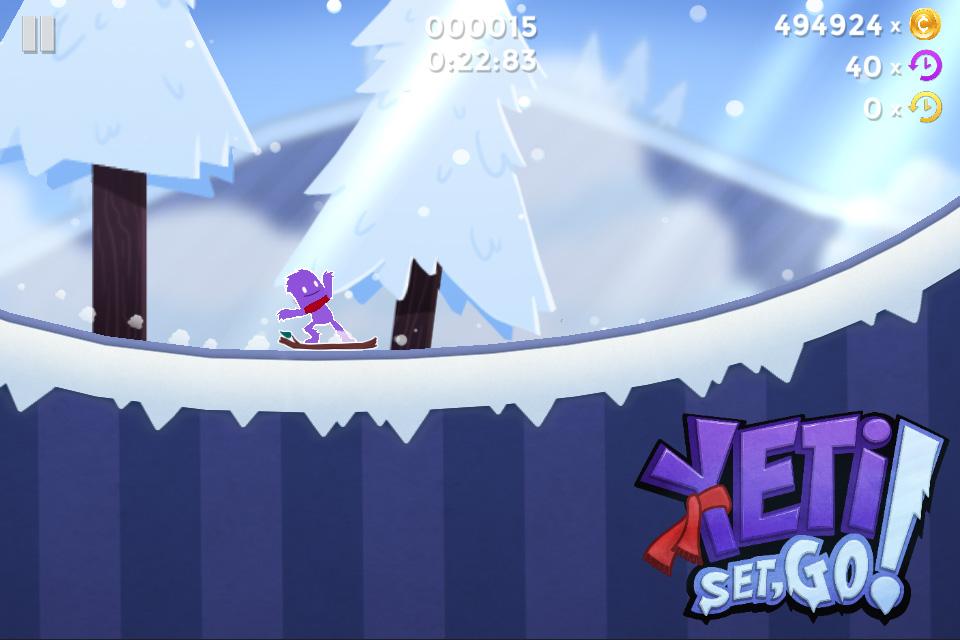 Yeti, Set, Go! screenshot